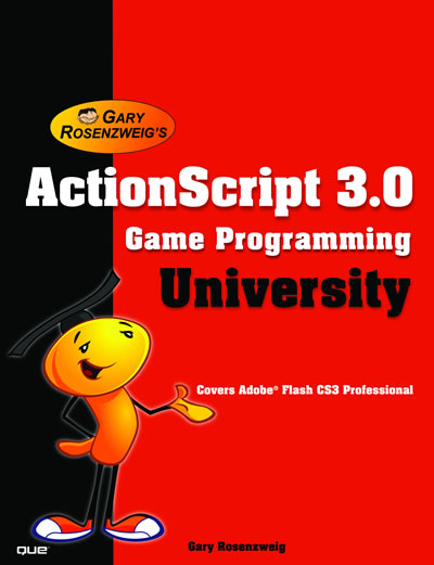 ActionScript 3 Game Programming U Book Cover